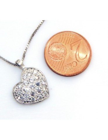 stamped 925: Necklace Venetian heart