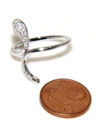 anello donna serpente