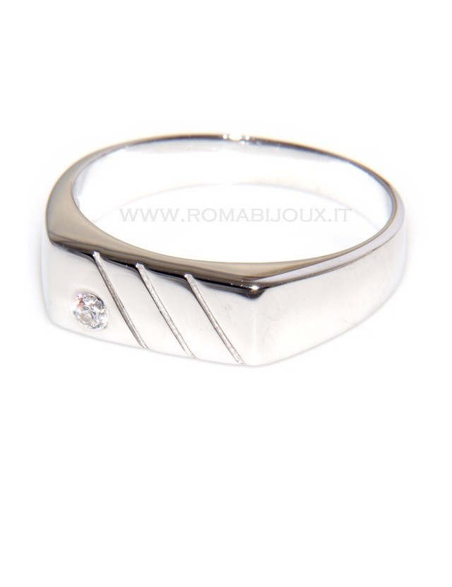 anello uomo scudo