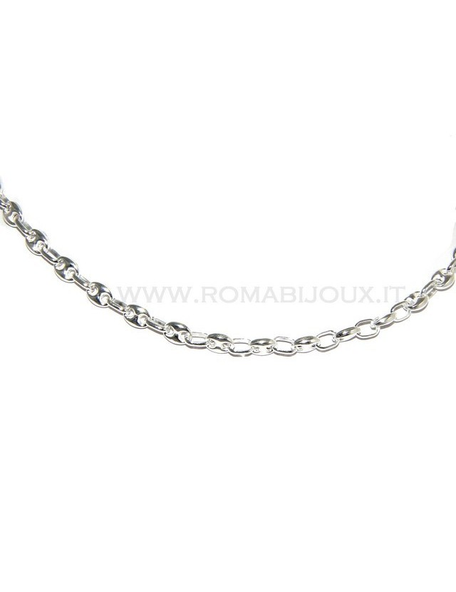 SILVER 925: Necklace or long   marina model ,  clear, for men or women