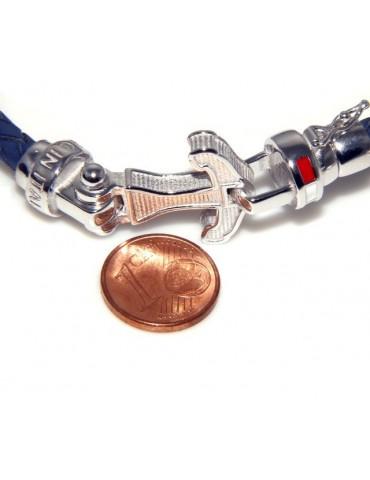 bracciale massiccio argento 925, made in italy