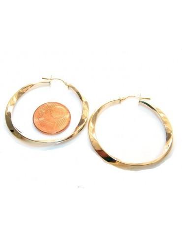 Argento 925 : orecchini uomo donna anelle cerchi cerchietti classici varie misure