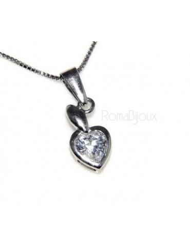 collana cuore e infinito