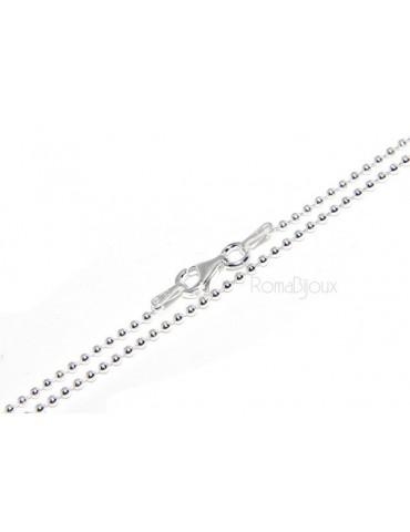 Argento 925 : orecchini donna rosario palline goccia e croce