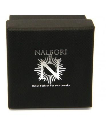 NALBORI  Anello Argento 925 fede fedina borchiata pallinata sarda massiccia scura 8 mm per uomo o donna