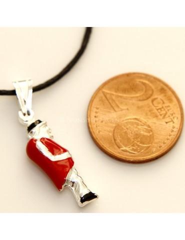 Ciondolo Argento 925 : gobbo gobbetto portafortuna
