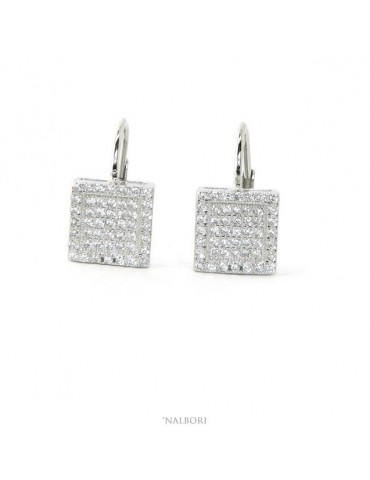Women's earrings in 925...