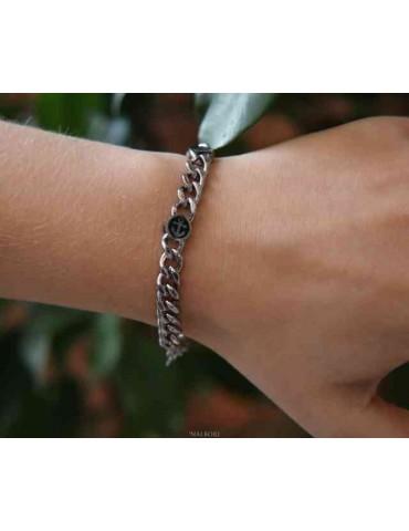 NALBORI Steel bracelet...
