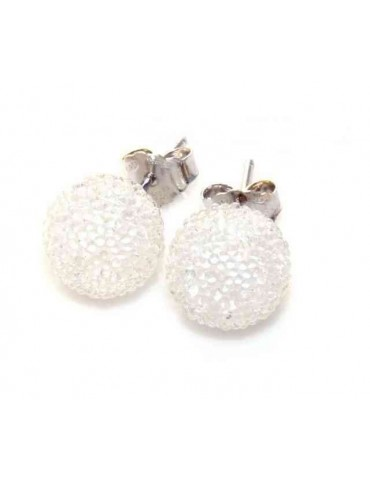 Silver 925 :  earrings lobe...