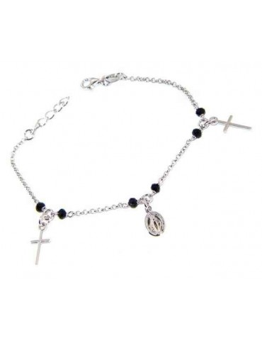 Rosary bracelet man woman...