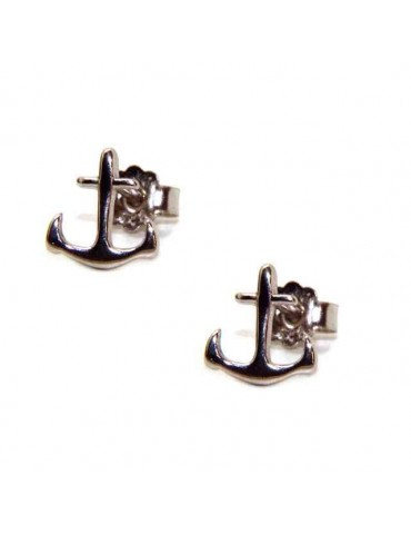 NALBORI men's or women's earrings in 925 silver still marine