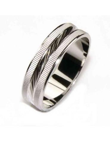 Anello fede argento 925...