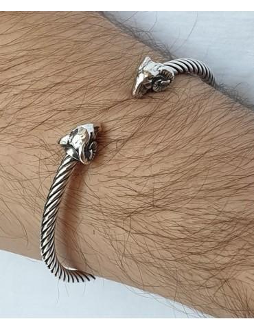 Cable di NALBORI bracciale argento 925 ariete