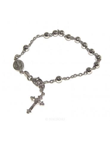 Rosary bracelet male female...