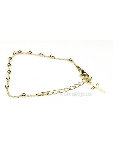 Bracciale rosario uomo o...
